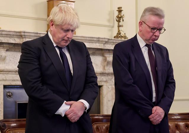 Boris Johnson minutes silence for Sir David Amess