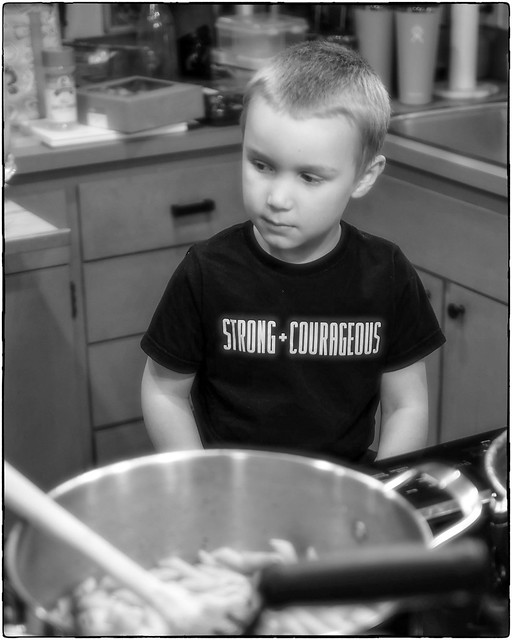 John in the Kitchen