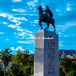 Napoli (NA), 2021, Via Caracciolo, Monumento ad Armando Diaz.