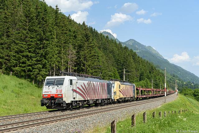 Lokomotion 189 918 und 193 777, Kolbnitz - Penk, 19.06.2021