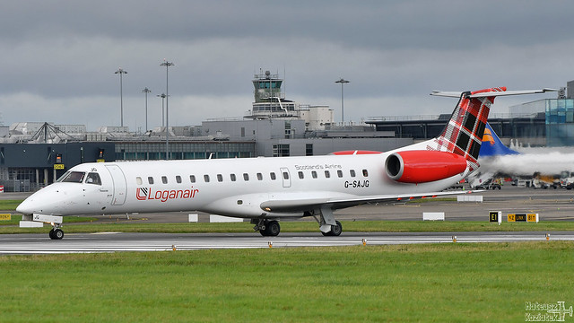 Loganair 🇬🇧 Embraer ERJ-145 G-SAJG