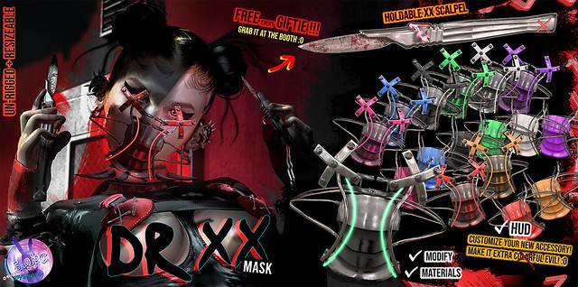 SEKA's Dr.XX Mask @NECROTIZE
