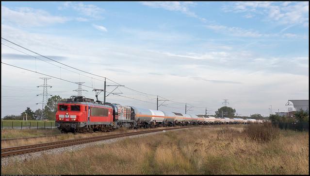 RXP 9902 + HSL 1324 // Propeentrein 50224 // Nieuwdorp, Finlandweg // 18 oktober 2021