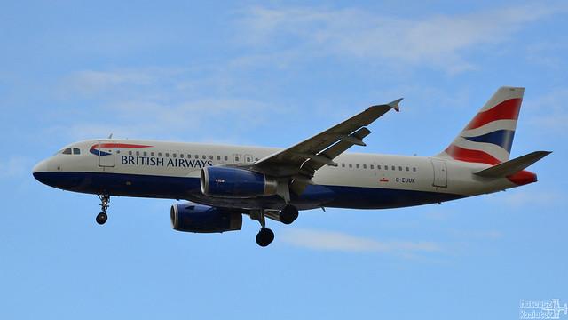 British Airways 🇬🇧️ Airbus A320-200 G-EUUK