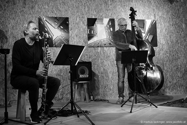 Ulrich Drechsler: clarinet / Oliver Steger: double bass