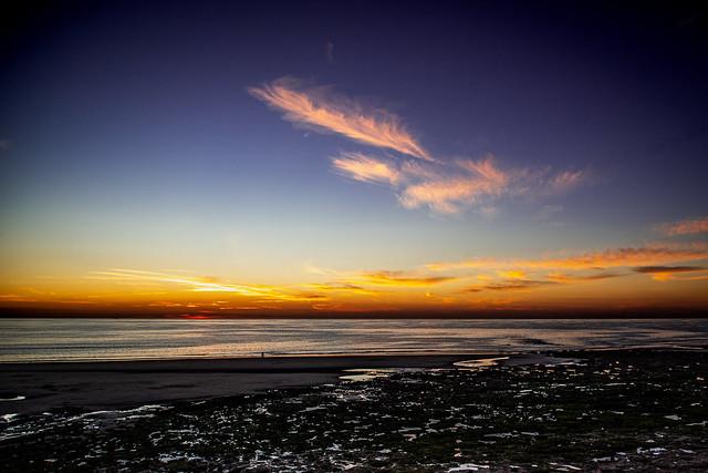 Sunset in Ambleteuse