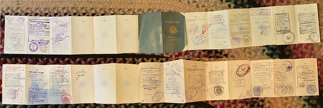 Dad's 1962 passport