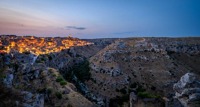 Matera by night