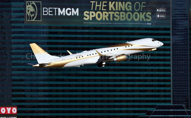 MGM Resorts E190 N783MM