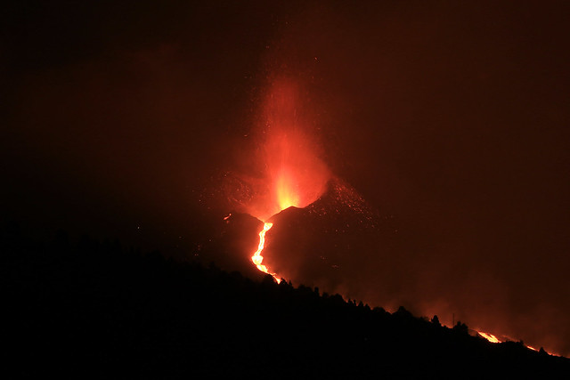 La Palma 2021. Ein neuer Vulkan entsteht.