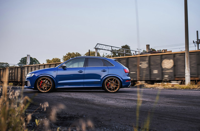 Audi RSQ3 | Concaver Wheels CVR5 Brushed Bronze
