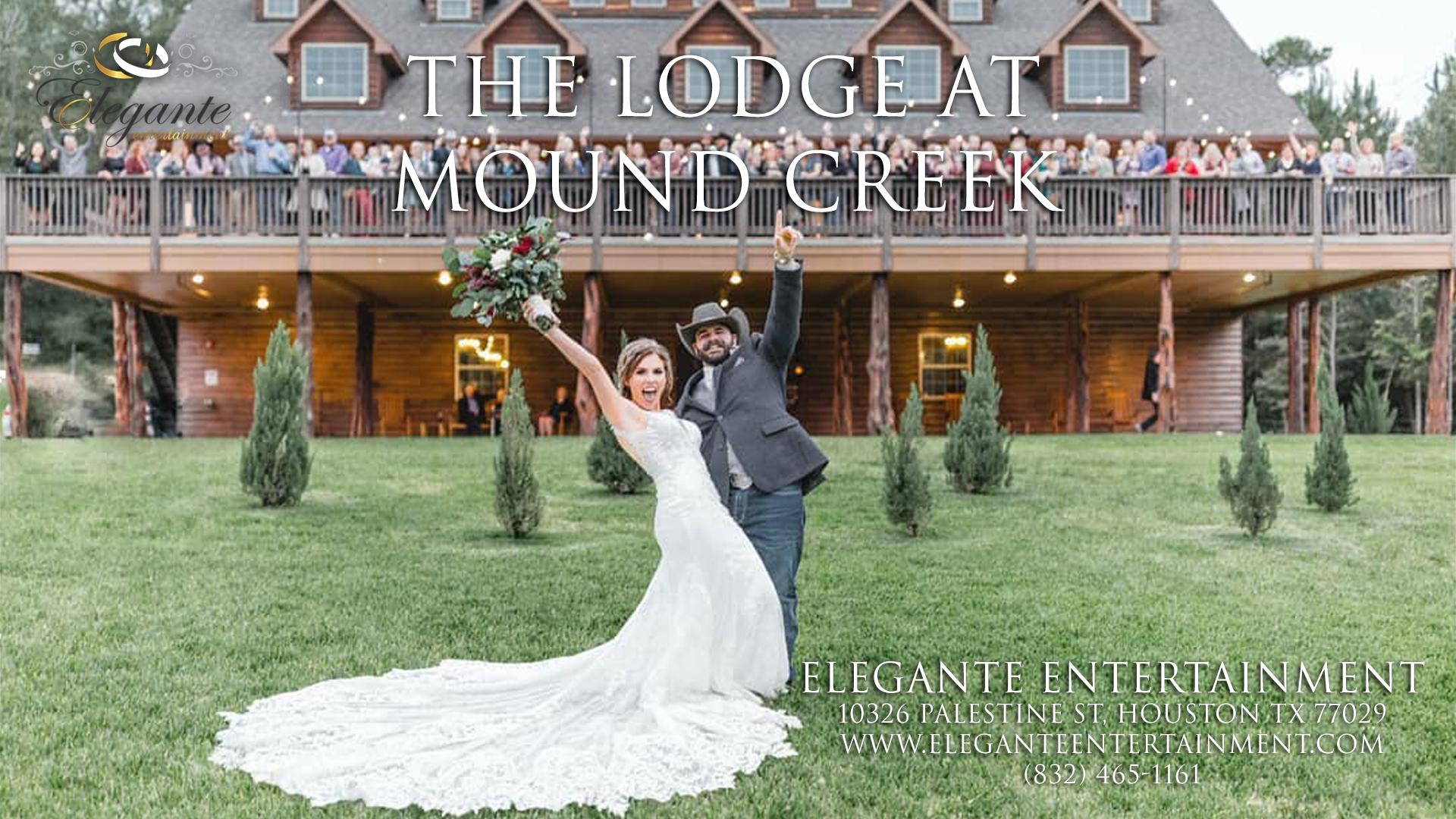 Best The Lodge at Mound Creek Wedding DJ 10-10-2021 in Montgomery Texas