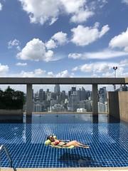Perfect pool day in #bangkok
