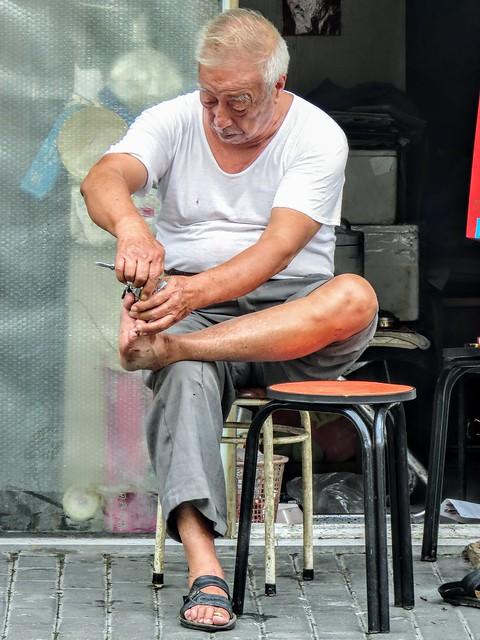 Quatidian life in the street