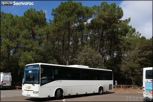 Irisbus Récréo – Voyages Nombalais / Camping Le Littoral (Sandaya) n°329