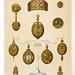 GERLACH, Martin. Antikschmuck Antike Demi-Parure mit Türkisen und Email in Gold, Wien, 1872
