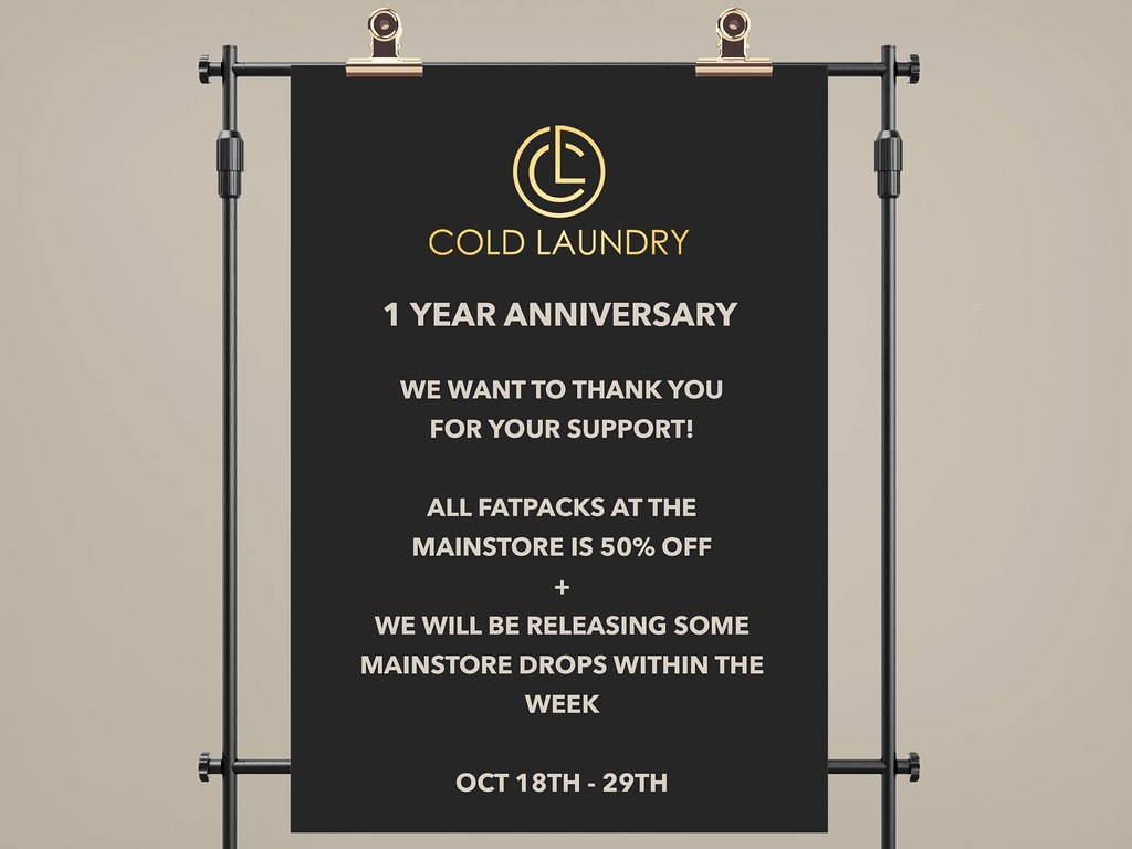 Cold Laundry 1 YEAR