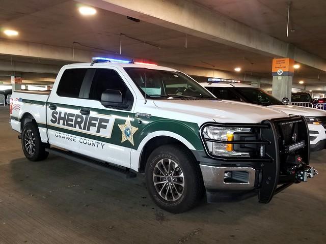 Orange County Sheriff's Office (OCSO) Ford F-150 Police Responder