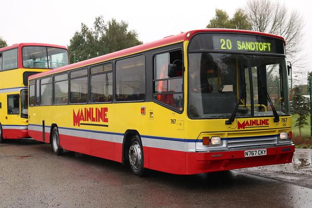 Mainline: 767 N767CKY Volvo B10M/Alexander PS