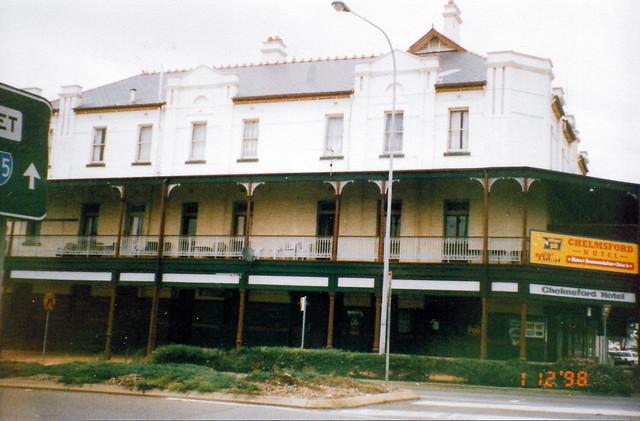 Chelmsford Hotel, Kurri Kurri, NSW, 1 December 1998