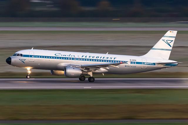 D-AICH Condor Airbus A320-212