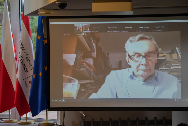 Meeting with Holocaust survivor Mr Marian TURSKI