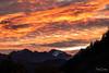 Lever du jour sur les Alpes