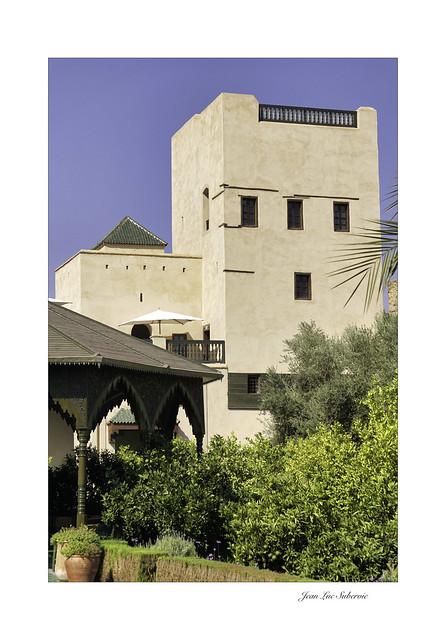 Jardin Secret III, Marrakech, La tour