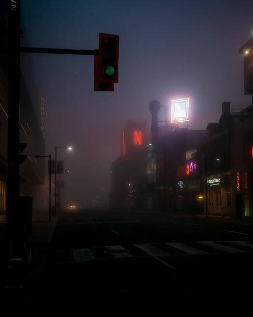 Yonge Street Fog