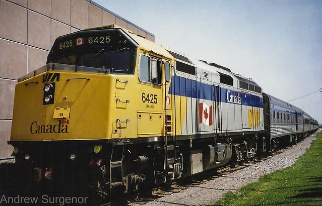 Via Rail Canada - Jonquiere Quebec