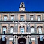 Napoli (NA), 2021, Piazza Plebiscito e Palazzo Reale.