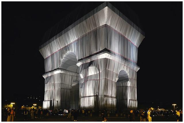 L'Arc de Triomphe, Wrapped  2021.09.25, 20h42
