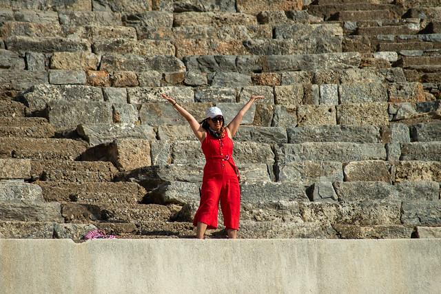 Red in Ephesus