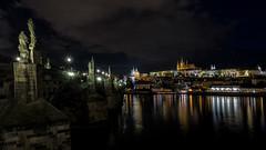 Prague at night . . .
