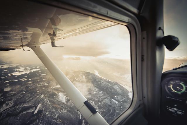 Cessna 150 Danube View