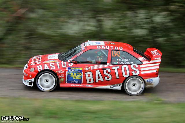 Ford Escort RS Cosworth WRC (LS42) (Craig Breen/Tamara Molinaro)
