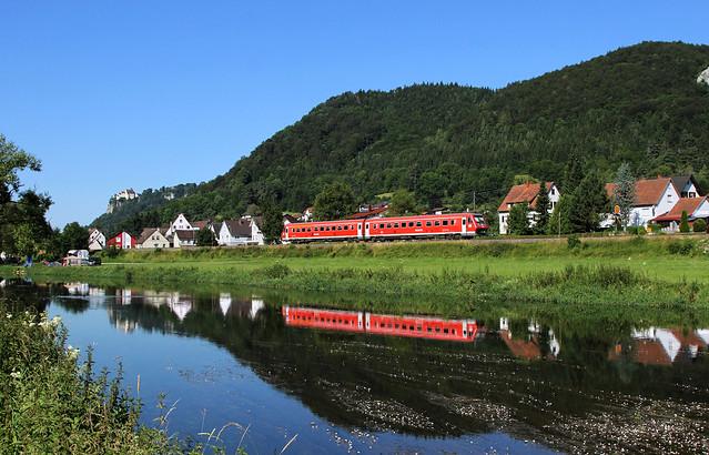611 027, Hausen im Tal, IRE 3204 Ulm Hbf-Neustadt im Schwarzwald
