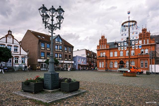 Marktplatz Heilgenhafen
