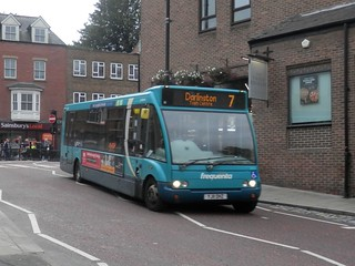 Arriva North East 2864 / YJ11 OHZ.