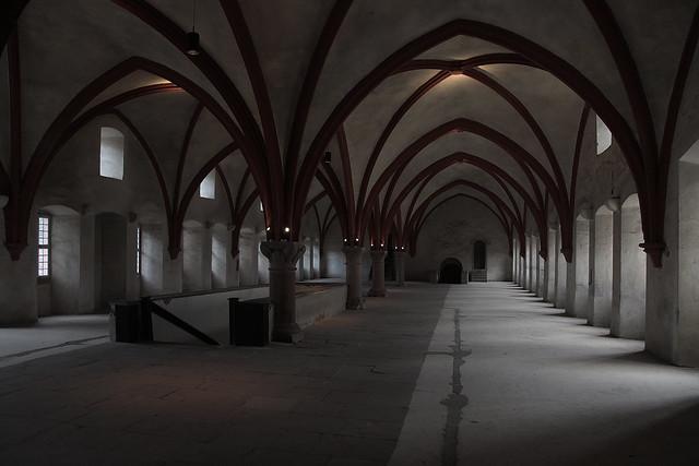 im Kloster Eberbach / Dormitorium / Rheingau