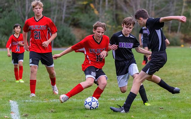 BMS Boys Soccer - October 18, 2021