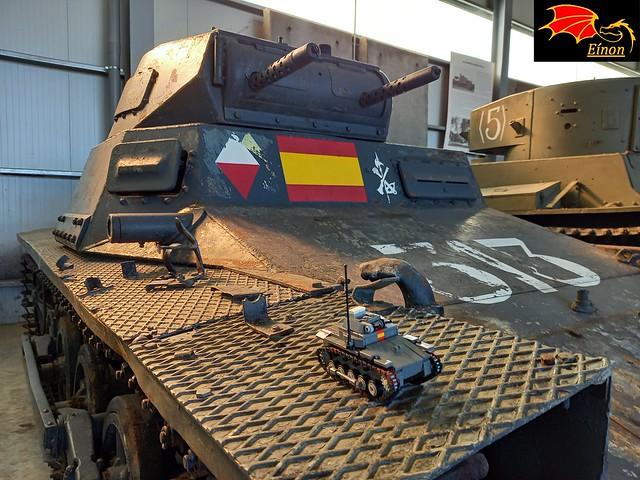 Panzer I - LEGO Model