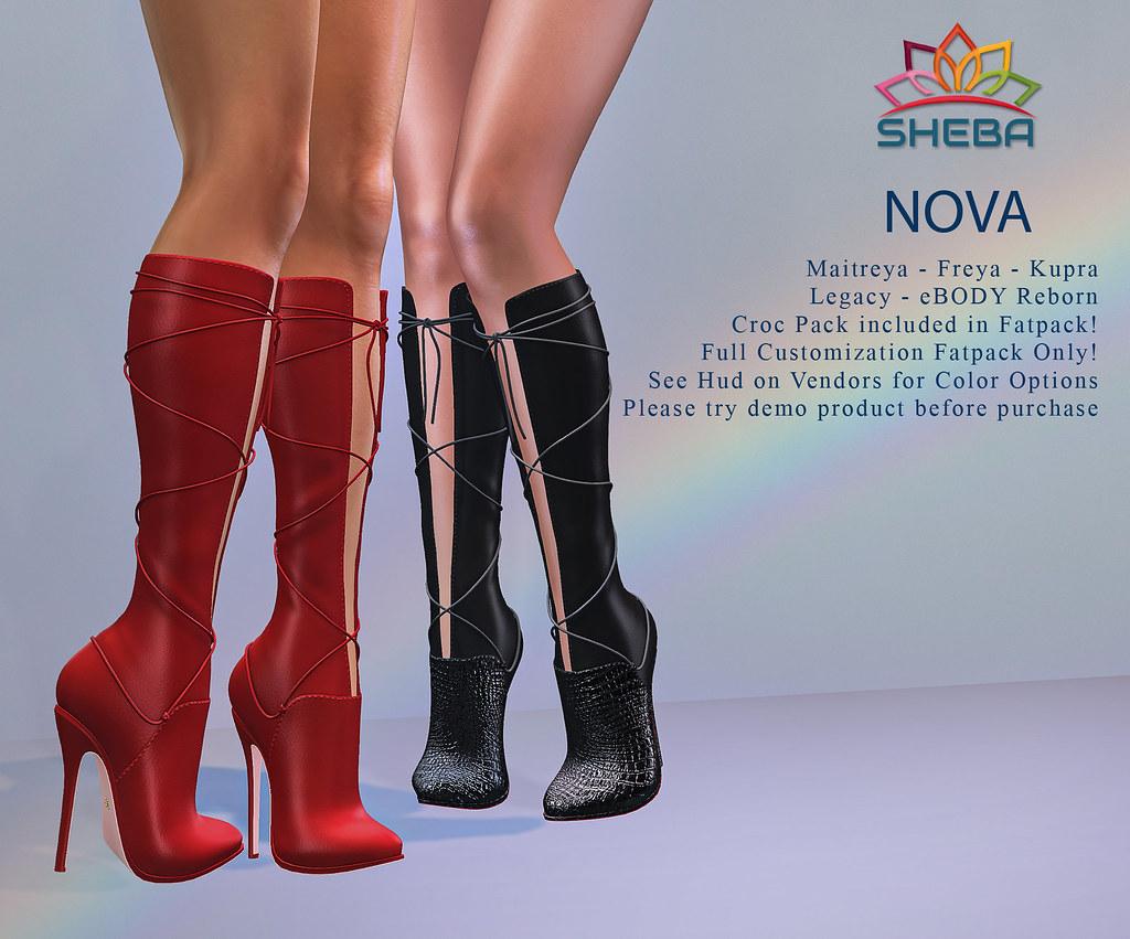 [Sheba] Nova Boots @Cosmopolitan Event