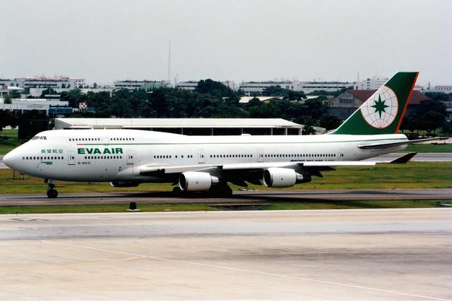 EVA Air | Boeing 747-400 | B-16412 | Bangkok Don Muang