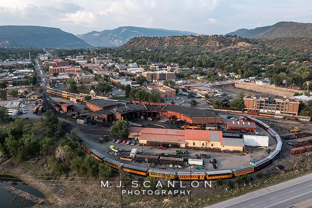 D&SNGRR Yard | Durango , Colorado