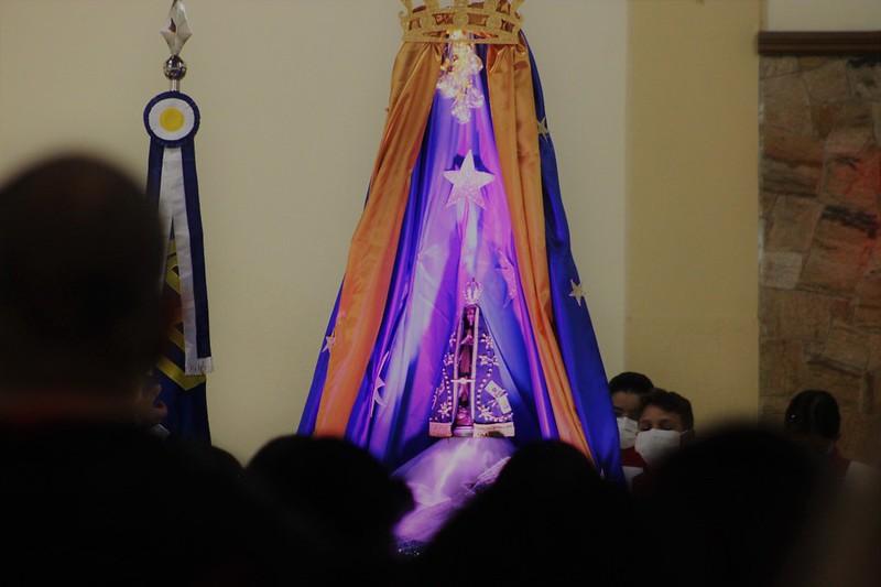 Solenidade de Nossa Senhora Aparecida nas Paróquias
