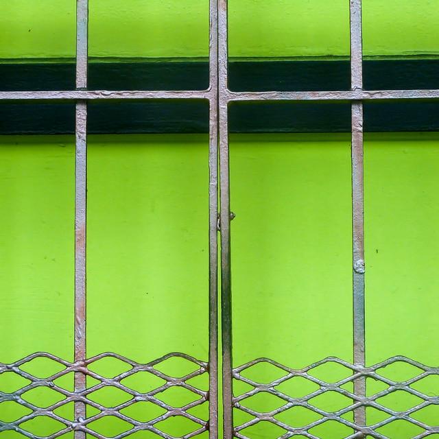 fragile fence detail