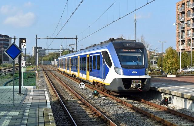 Alphen a/d Rijn, Sprinter uit Leiden