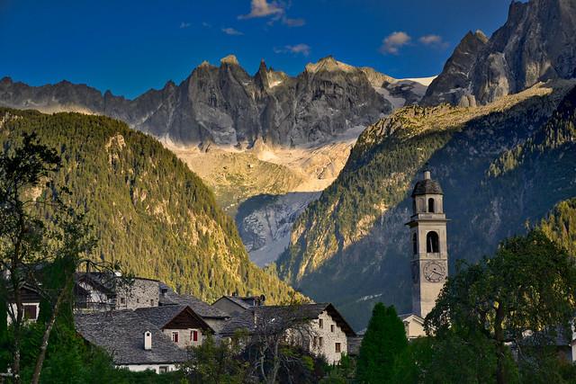 Soglio and the Scoria group, Val Bregaglia, Switzerland