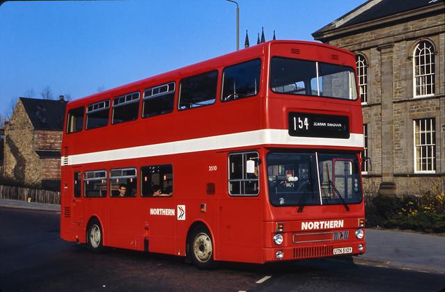 MCW Metrobus no. UTN510Y, c.1985 [slide 8582]